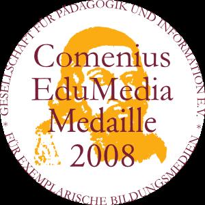 Comenius EduMedia Medaille 2008