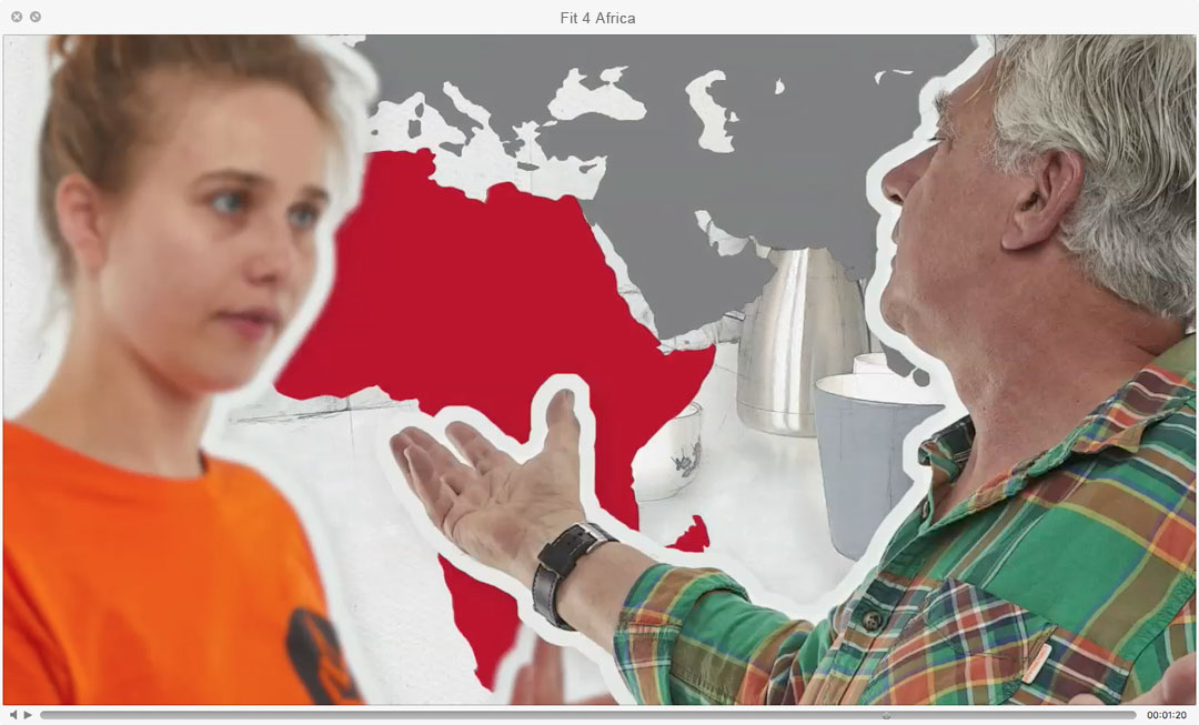 "Szene aus ""Fit 4 Africa"""