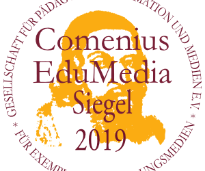 Comenius-EduMedia-Siegel 2019