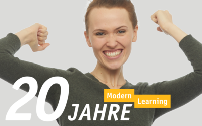 ModernLearning ist 20 Jahre